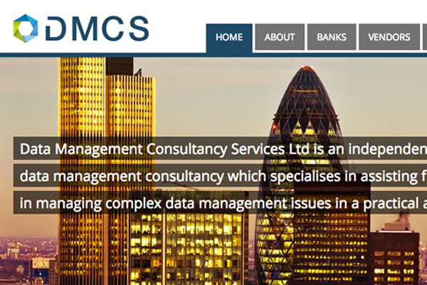 Website design and development for London Consultancy