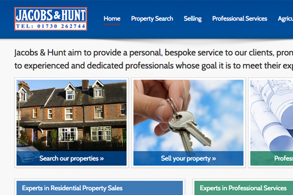 Jacobs & Hunt Website Design and Development